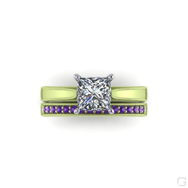 -amethyst-rings-14-karat-green-gold