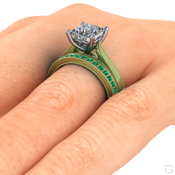 -emerald-rings-14-karat-green-gold