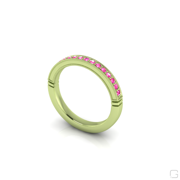 -pink-sapphire-rings-14-karat-green-gold