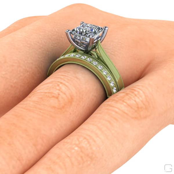 -white-sapphire-rings-14-karat-green-gold