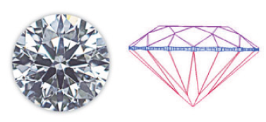Princess loose diamond