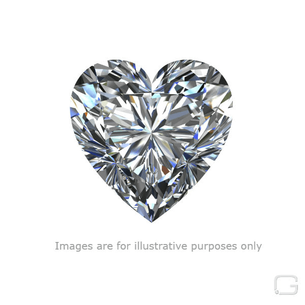 Heart F diamond