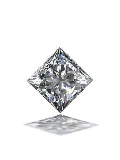 The uniqueness of Princess cut Diamond