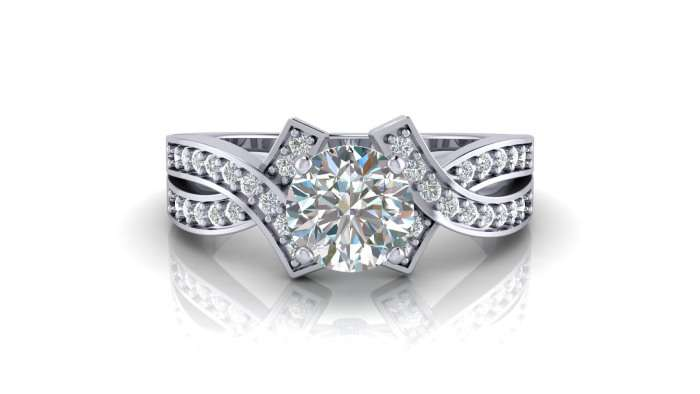 Engagement ring current trends