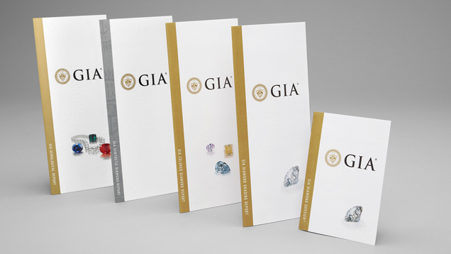 GIA Sample Grading Report